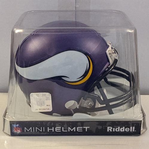 2013 Minnesota Vikings Riddell Mini Helmet