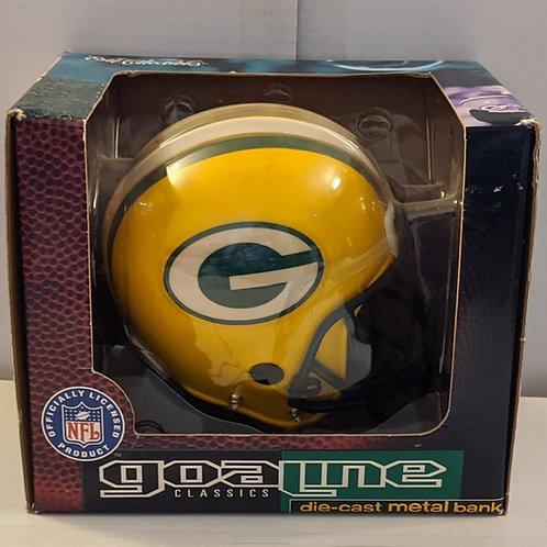 1996 Green Bay Packers ERTL Mini Helmet Bank