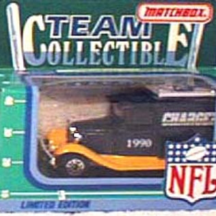 1990 San Diego Chargers Milk Truck