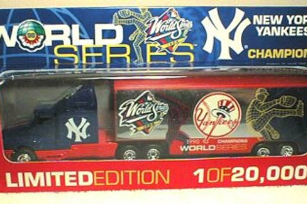 1998 New York Yankees World Series Tractor Trailer