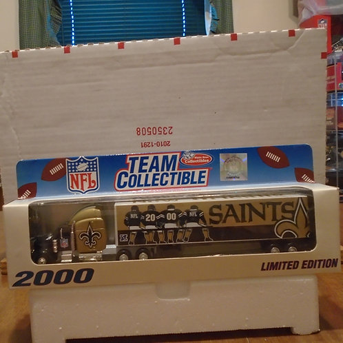 2000 New Orleans Saints Tractor Trailer
