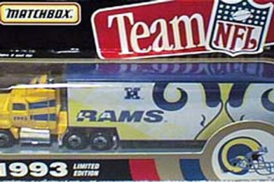 1993 Los Angeles Rams Tractor Trailer