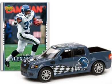 2007 Seattle Seahawks Ford SVT Adrenaline w/Shaun Alexander Card
