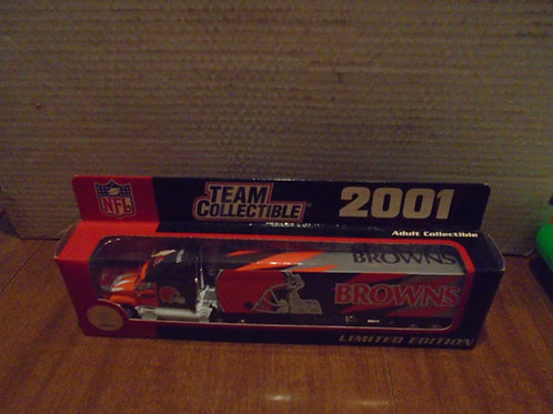 2001 Cleveland Browns Tractor Trailer