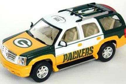 2002 Green Bay Packers Cadillac Escalade