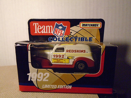 1992 Washington Redskins Delivery Van