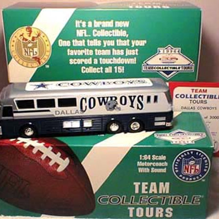 1996 Dallas Cowboys Team Bus