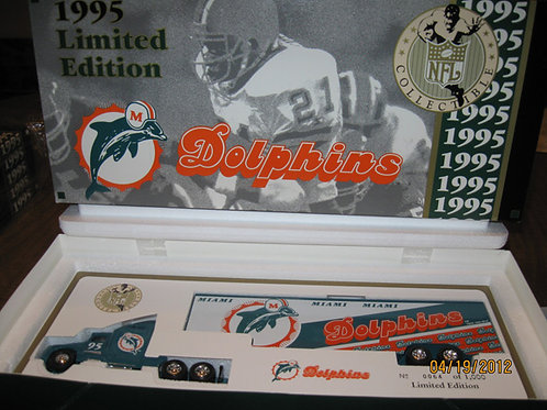 1995 Miami Dolphins WRC Tractor Trailer