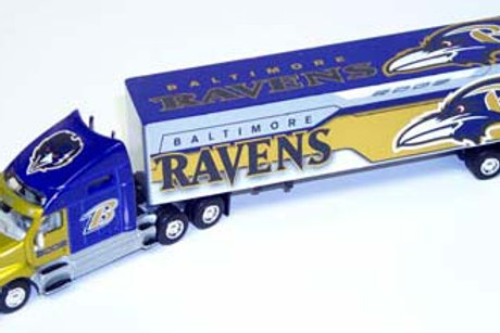 2002 Baltimore Ravens Tractor Trailer