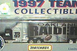 1997 Oakland Raiders Tractor Trailer