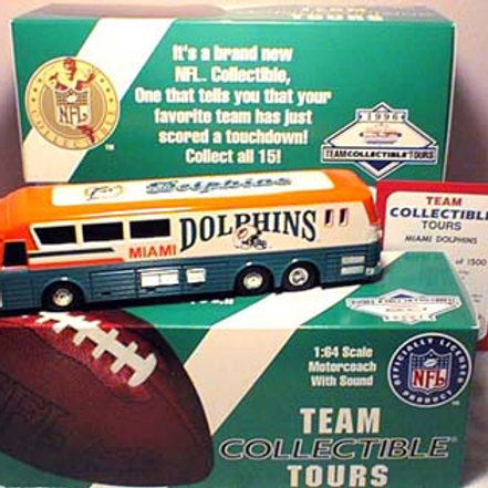 1996 Miami Dolphins Talking Bus