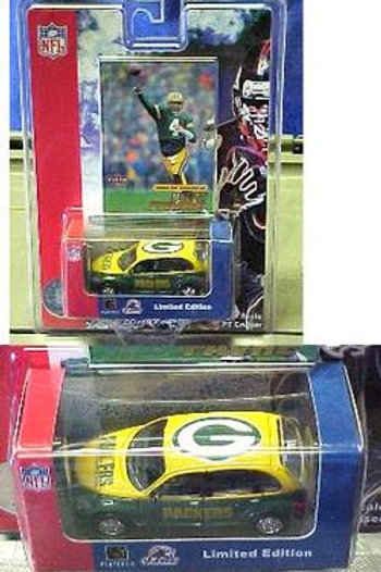 2001 Green Bay Packers PT Cruiser w/ Brett Favre Card