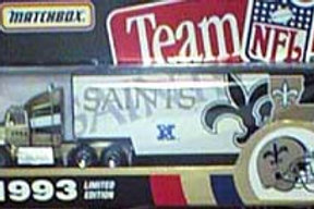 1993 New Orleans Saints Tractor Trailer