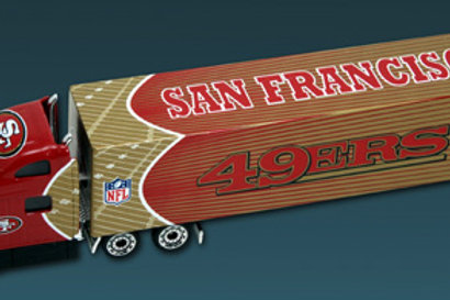 2010 San Francisco 49ers Tractor Trailer