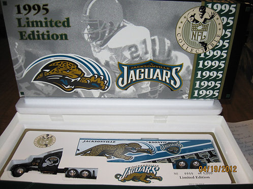 1995 Jacksonville Jaguars WRC Tractor Trailer