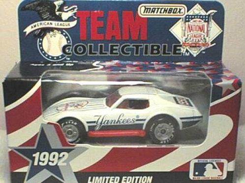 1992 New York Yankees Corvette