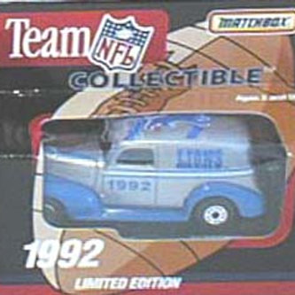 1992 Detroit Lions Milk Truck
