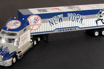 2003 New York Yankees Tractor Trailer