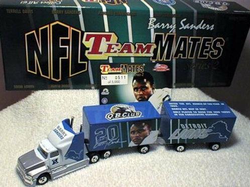 "1999 Detroit Lions ""TeamMates"" Barry Sanders Tractor Trailer"
