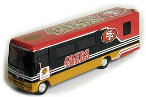 2003 San Francisco 49ers Winnebago