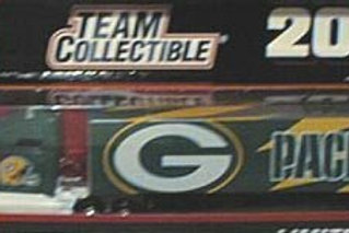 2001 Green Bay Packers Tractor Trailer