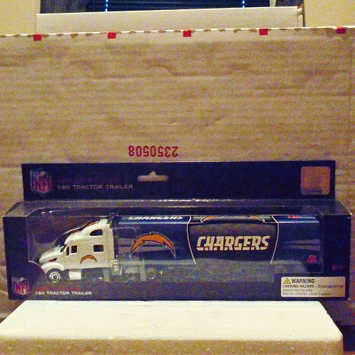 2012 San Diego Chargers Tractor Trailer
