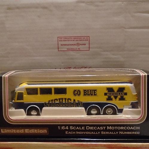2001 Michigan State Wolverines Bus