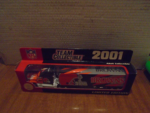 2001 Denver Broncos Tractor Trailer