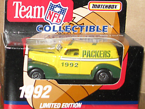 1992 Green Bay Packers Delivery Van