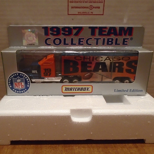 1997 Chicago Bears Tractor Trailer