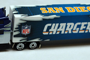 2009 San Diego Chargers Tractor Trailer