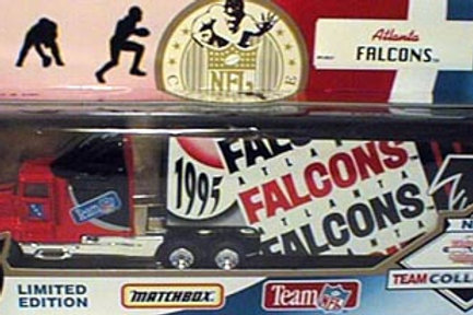 1995 Atlanta Falcons Tractor Trailer