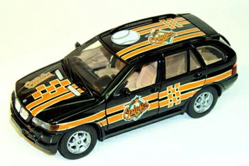 2002 Baltimore Orioles BMW X5