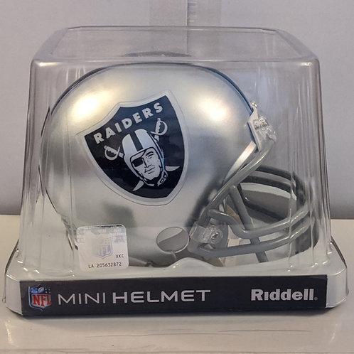 2013 Oakland Raiders Riddell Mini Helmet