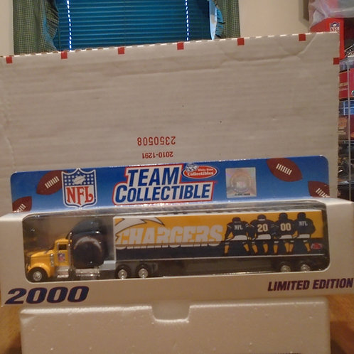2000 San Diego Chargers Tractor Trailer