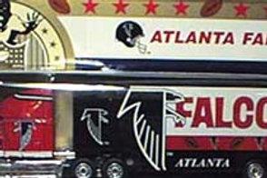 1994 Atlanta Falcons Tractor Trailer
