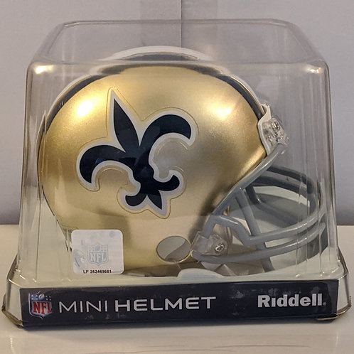 2011 New Orleans Saints Riddell Mini Helmet
