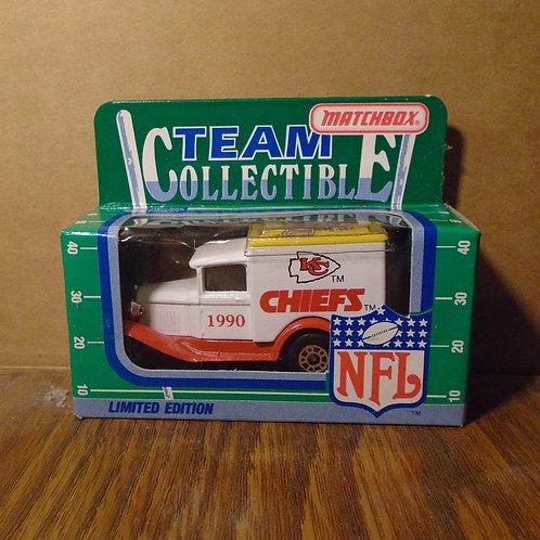 1990 Kansas City Chiefs Milk Truck