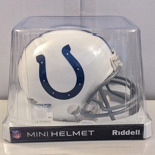 2015 Indianapolis Colts Riddell Mini Helmet