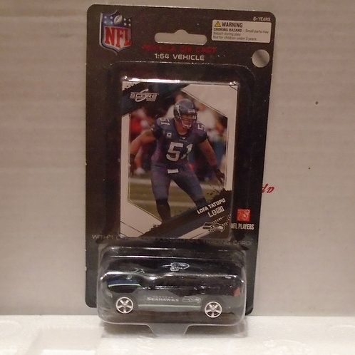 2009 Seattle Seahawks Dodge Charger w/Lofa Tatupu Card