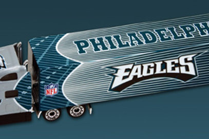 2010 Philadelphia Eagles Tractor Trailer