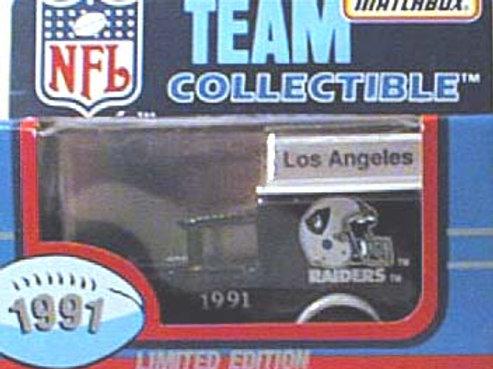 1991 Los Angeles Raiders Milk Truck