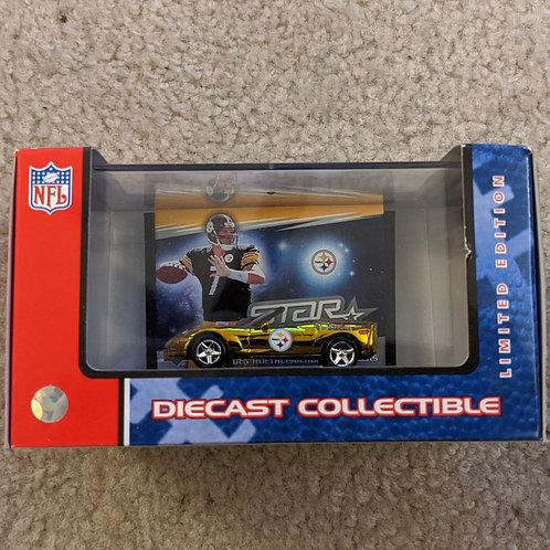 2006 Pittsburgh Steelers Gold Chevrolet Corvette C6 w/Case