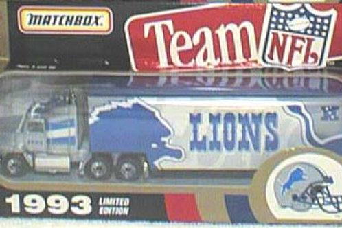1993 Detroit Lions Tractor Trailer