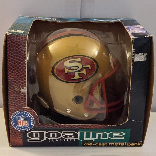 1996 San Francisco 49ers ERTL Mini Helmet Bank