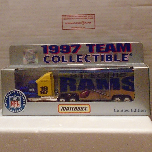 1997 ST. Louis Rams Tractor Trailer