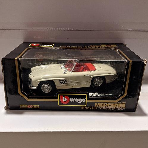 1957 Mercedes-Benz 300 SL Roadster (white)