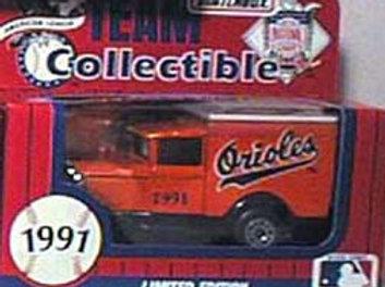 1991 Baltimore Orioles Milk Truck