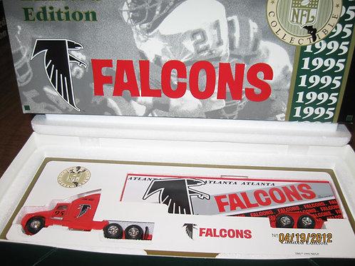 1995 Atlanta Falcons WRC Tractor Trailer