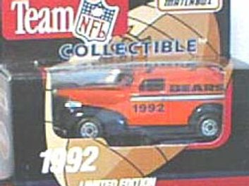 1992 Chicago Bears Delivery Van